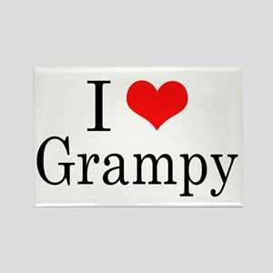 I Love Grampy Rectangle Magnet
