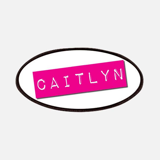 Caitlyn Punchtape Patches