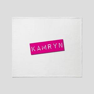 Kamryn Punchtape Throw Blanket