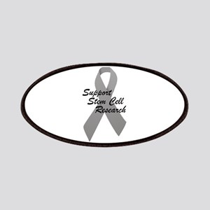 Gray Ribbon Support Stem Cell Research Patches