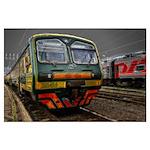 train in Perm 187 Poster