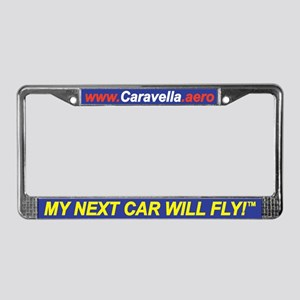 My Next Car Will Fly! - License Plate Frame