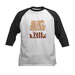 Bacon's Rebellion Kids Baseball Jersey