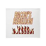 Bacon's Rebellion Throw Blanket