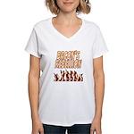 Bacon's Rebellion Women's V-Neck T-Shirt