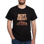 Bacon's Rebellion Dark T-Shirt