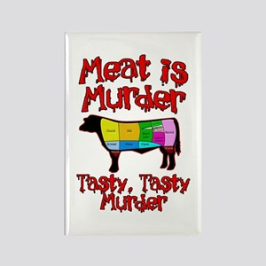 Meat is Murder. Tasty, Tasty Murder. Rectangle Mag
