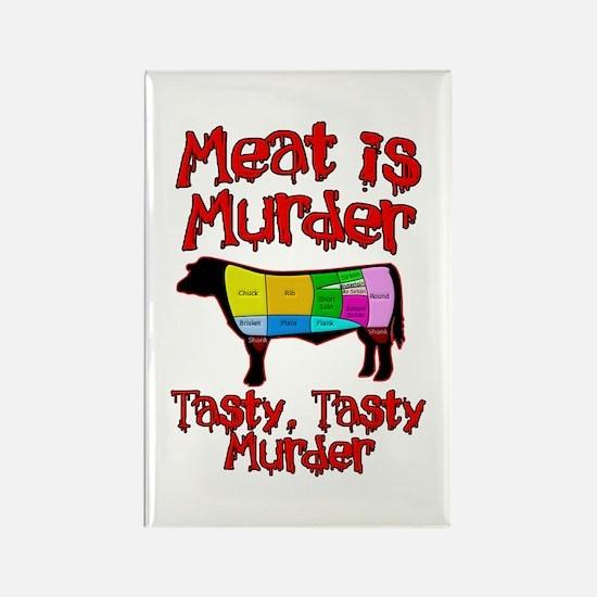 Meat is Murder. Tasty, Tasty Murder. Rectangle Mag