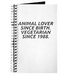 Vegetarian since 1988 Journal