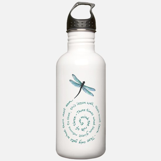 Witches law-rule of three Water Bottle
