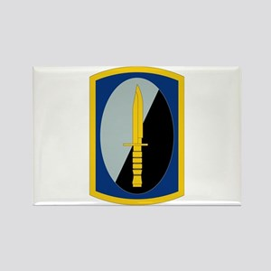 188th Infantry Brigade - SSI Rectangle Magnet