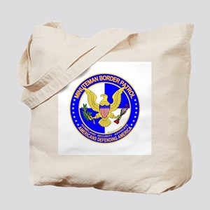 mx1 Minuteman Border Patrol  Tote Bag