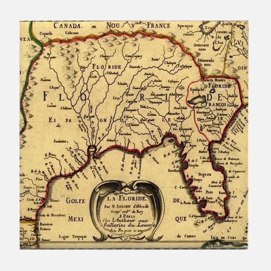 Southern States 1657 Tile Coaster