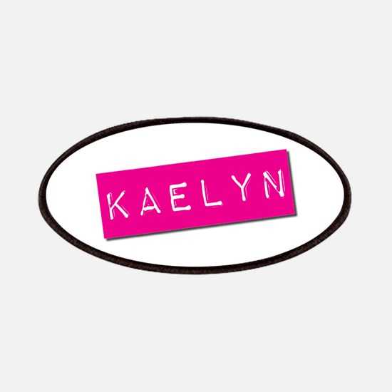 Kaelyn Punchtape Patches