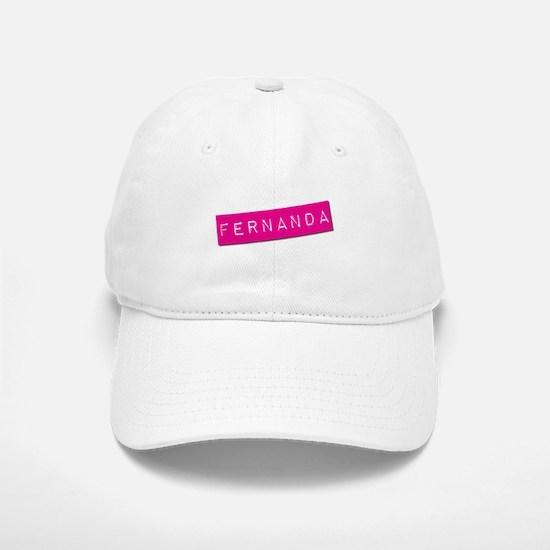 Fernanda Punchtape Baseball Baseball Cap