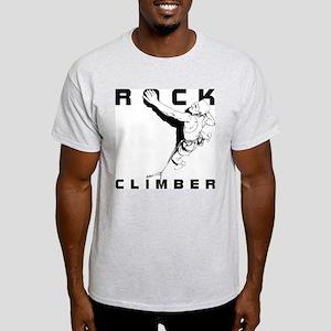 ROCK CLIMBER Ash Grey T-Shirt