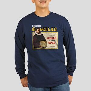 Magellan World Tour Long Sleeve Dark T-Shirt
