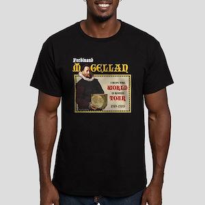 Magellan World Tour Men's Fitted T-Shirt (dark)