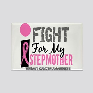 Fight For My Breast Cancer Rectangle Magnet