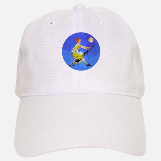 Modern Electric Witch Baseball Baseball Cap