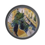 """Gondolier of Venice"" Wall Clock"