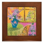 """Summer Afternoon"" Framed Tile"