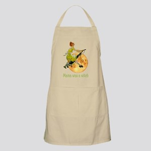 Mama Was a Witch Apron