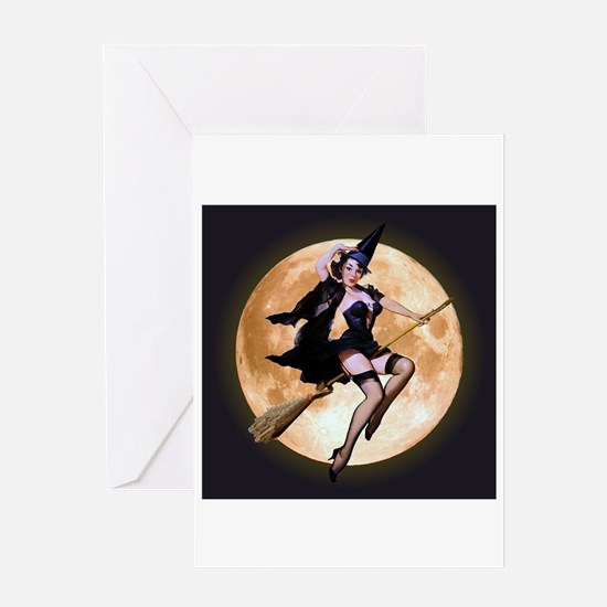 Sexy Witch Greeting Card