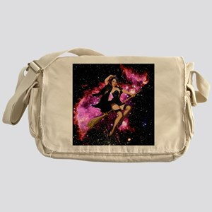 Sexy Cosmic Witch Messenger Bag
