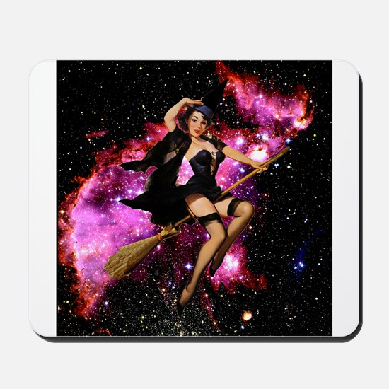 Sexy Cosmic Witch Mousepad