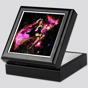 Sexy Cosmic Witch Keepsake Box