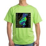 No nuclear map Green T-Shirt