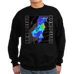 No nuclear map Sweatshirt (dark)
