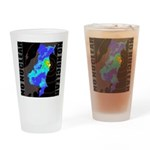 No nuclear map Drinking Glass