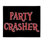Party Crasher Throw Blanket