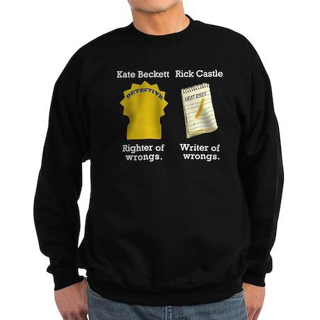 Castle - Righter Writer of Wrongs Sweatshirt (dark