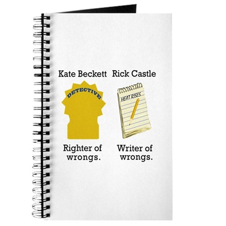 Castle - Righter Writer of Wrongs Journal