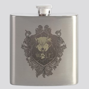 Wolf Flask