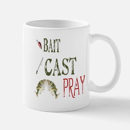 Bait, Cast, Pray Mug