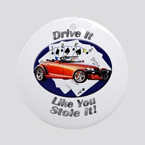 Plymouth Prowler Ornament (Round)
