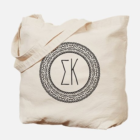 Sigma Kappa Medallion Tote Bag