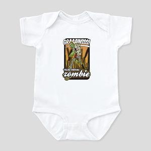 Vegetarian Zombie Infant Bodysuit