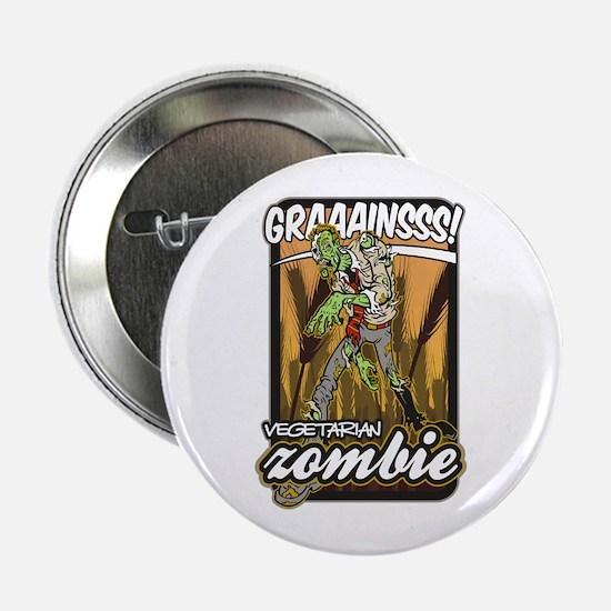 "Vegetarian Zombie 2.25"" Button"