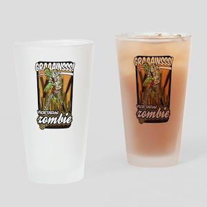 Vegetarian Zombie Drinking Glass