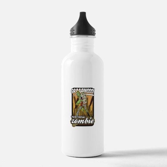 Vegetarian Zombie Water Bottle