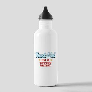 Trust Me Tattoos artist Stainless Water Bottle 1.0