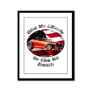 Plymouth Prowler Framed Panel Print