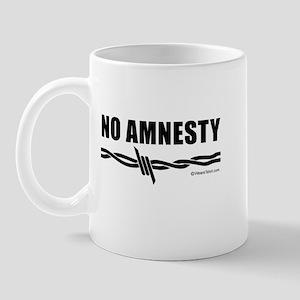 No amnesty -  Mug