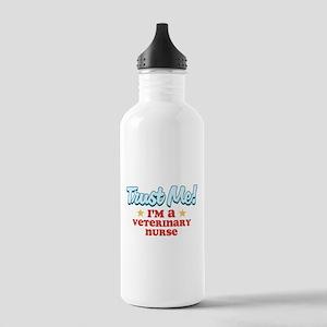 Trust Me Veterinary nurse Stainless Water Bottle 1