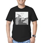 Godsucks (no text) Men's Fitted T-Shirt (dark)
